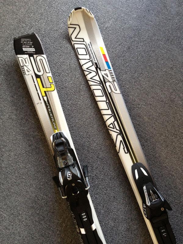 サロモン スキー 24 HOURS POWER LINE S1 with L10 2011-12