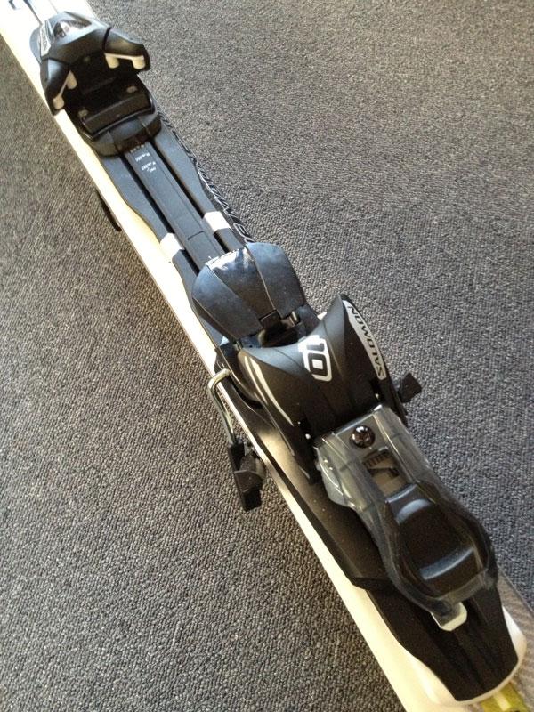 サロモン スキー 24 HOURS POWER LINE S1 with L10 2011-12 ビンディング部分