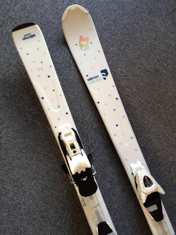 サロモン スキー ORIGINS LAGOON + L9 2012-13