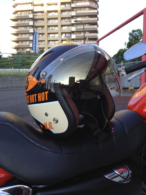 HEAT GROUP BILLY CHU CHU ROCKET ジェットヘルメット