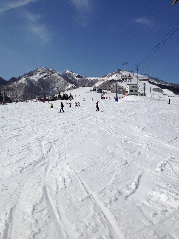 岩原スキー場 メインゲレンデ