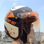 ヒートグループ ジェットヘルメット DAMMTRAX ガッチャシールド
