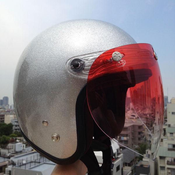 72Jam ジェットヘルメット DAAMMTRAX ガッチャシールド
