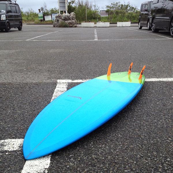 """平砂浦 ファミリーパーク 駐車 Vagabond ショートボード 5'10"""""""