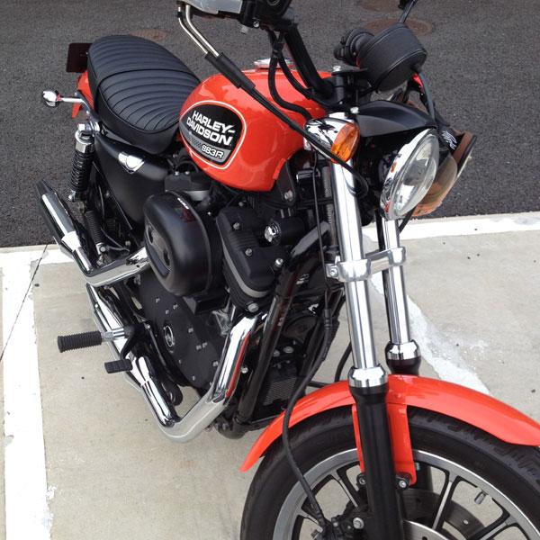 ハーレーダビッドソン XL883R 2009年式 1年経過
