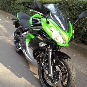 Kawasaki Ninja400 ライムグリーン
