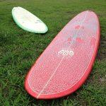"Pacific Surf Craft ファンボード 7'2"" 千葉J's前"