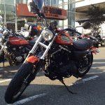 ハーレーダビッドソン XL883R 横浜