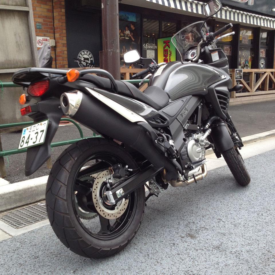 試乗 スズキ V-Strom 650