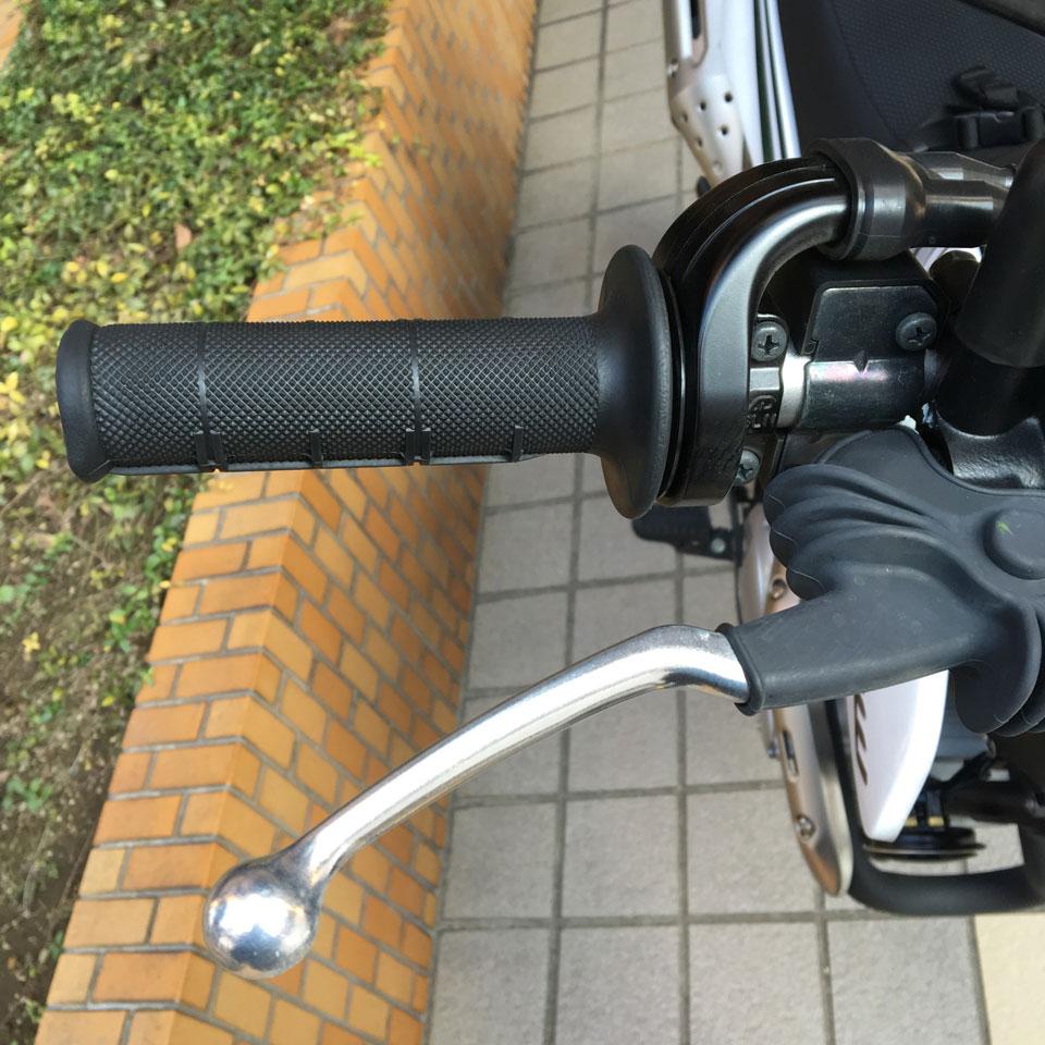 セロー250 ラフ&ロード RALLY491 ノンスリップショートレバー 装着