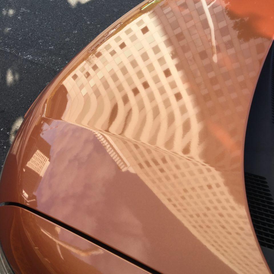 クリスタルキーパーを11年経過した日産セレナに実施