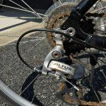 マウンテンバイクのシフターケーブルを交換