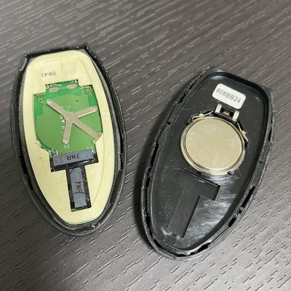 スマートキーの電池交換方法を写真で解説!